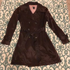 Chocolate Brown Trench Coat